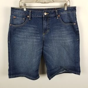 Jag Jeans Relaxed Fit Denim Jean Shorts 16